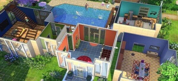 Jogos de construir: The Sims (casa)