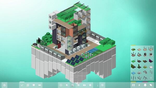 Jogos de construir: Block'hood (construindo um edifício)