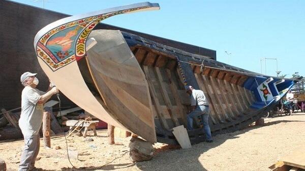Marcenaria: carpintaria naval