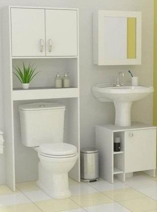 Marcenaria criativa: banheiro