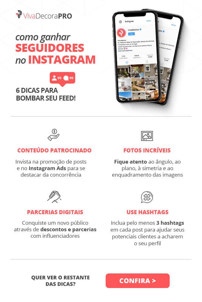 Infográfico - Como Ganhar Seguidores no Instagram