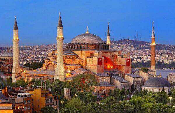 Arquitetura e urbanismo: Basílica de Santa Sofia