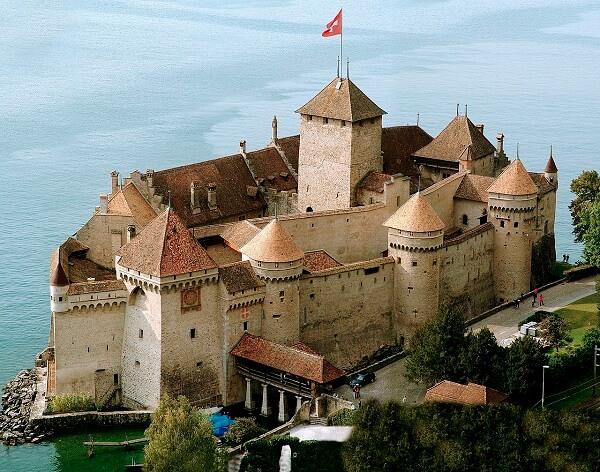 Arquitetura e urbanismo: Castelos Medievais Castelo de Chillon