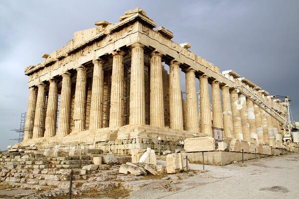 Arquitetura e Urbanismo: Templo de Parthenon