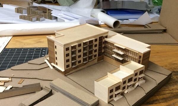 Arquitetura e Urbanismo: grade curricular (maquete)