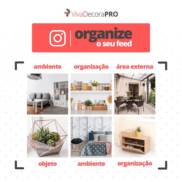 Como organizar o feed do Instagram - sugestão para escritórios de arquitetura