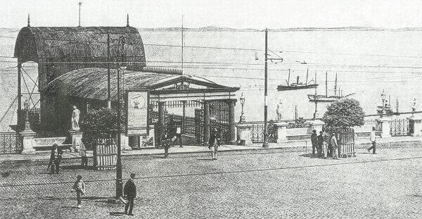 Elevador Lacerda em 1878