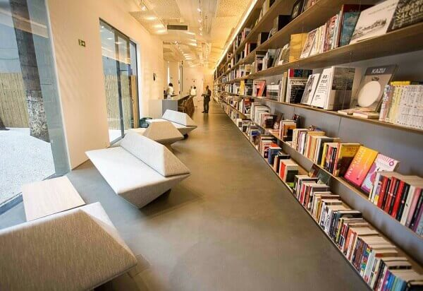 Japan House: Biblioteca