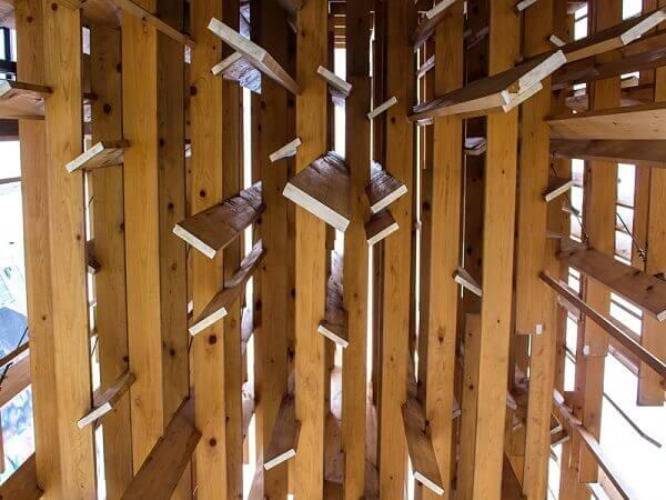 Japan House São Paulo: detalhe da fachada