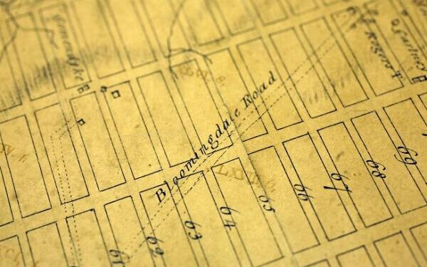 Maiores cidades do mundo: cópia do mapa original da cidade de Nova York