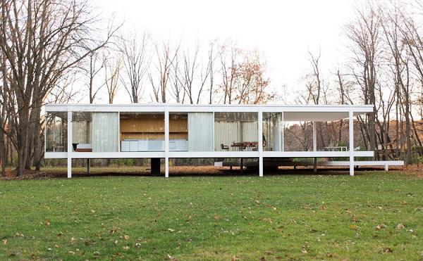 Minimalismo: Casa Edith Farnsworth