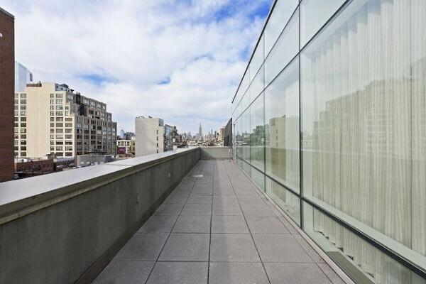 Penthouse de Justin Timberlake (varanda)
