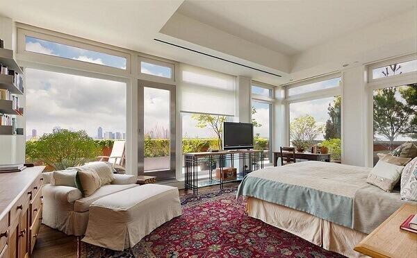 Penthouse de Meryl Streep (quarto)
