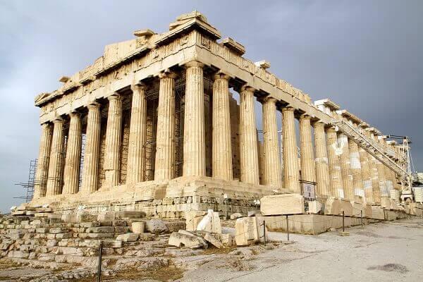 Simetria: Templo de Parthenon