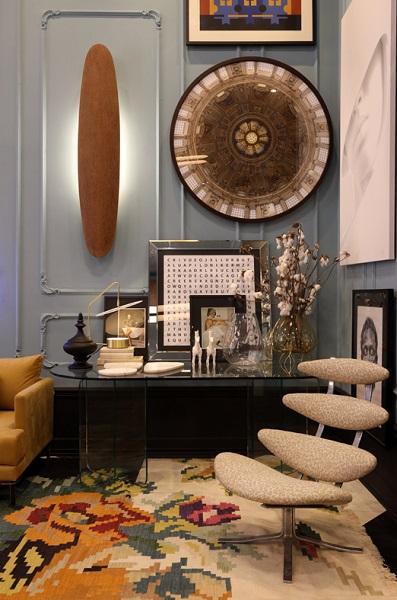 CASACOR 2019: espaço Foyer Bienvenue - detalhes objetos