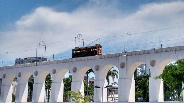 Arcos da Lapa: bondinho
