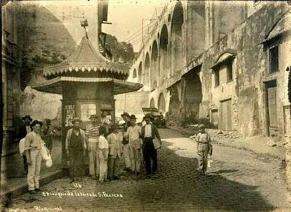 Arcos da Lapa em 1911