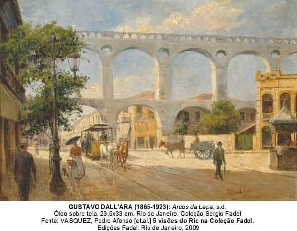 Arcos da Lapa: pintura de Gustavo Dall'ara