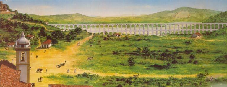 Arcos da lapa no Brasil Colonial: ligação entre o Rio Carioca e o Largo da Carioca