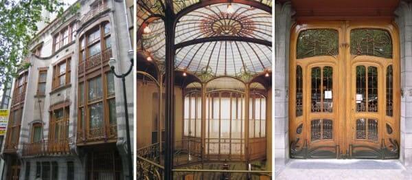 Art Nouveau: Hotel Solvay. Bruxelas (Victor Horta) foto: Coisas da Arquitetura