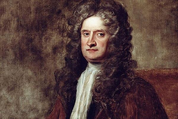 Círculo cromático: Isaac Newton