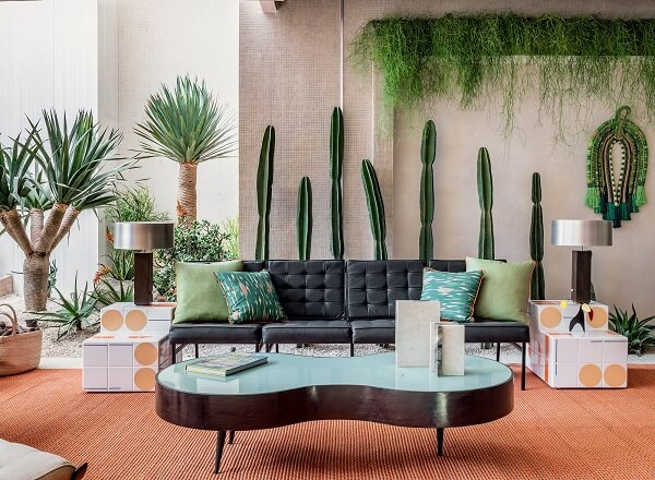 CASACOR 2019: varanda Palm Springs (Jean de Just)