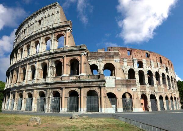 Tipos de cimento: Coliseu