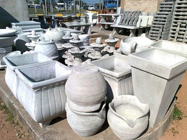Tipos de cimento: artefatos de cimento