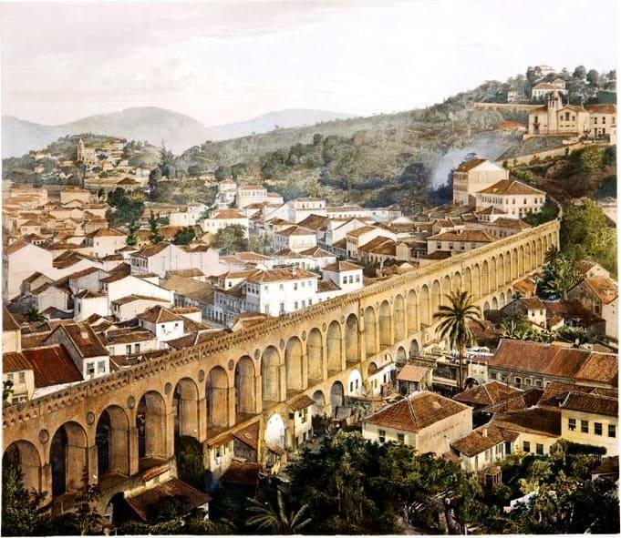 Arcos da Lapa no Brasil Colonial: Aqueduto da Carioca