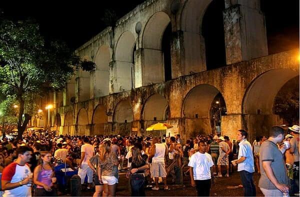 Arcos da Lapa: bares nos arcos da Lapa