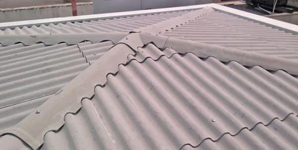 Cálculo de telhado: telhas de fibrocimento
