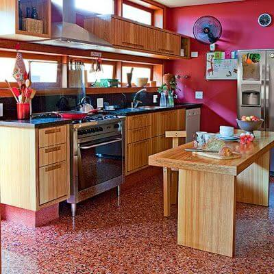 Porcelanato para cozinha: granilite