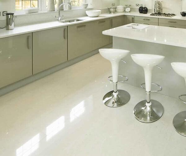 Porcelanato para cozinha: porcelanato retificado