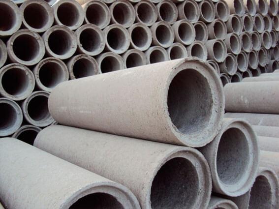 Tipos de cimento: cano para esgoto