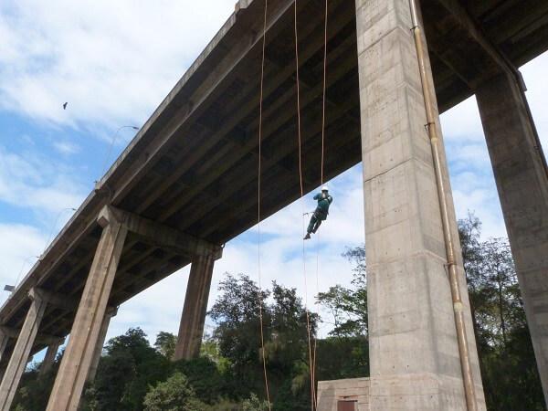 Tipos de cimento: pilar de ponte