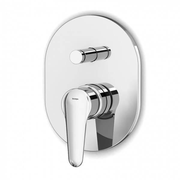 Banheiro acessível: exemplo de torneira monocomando para chuveiro
