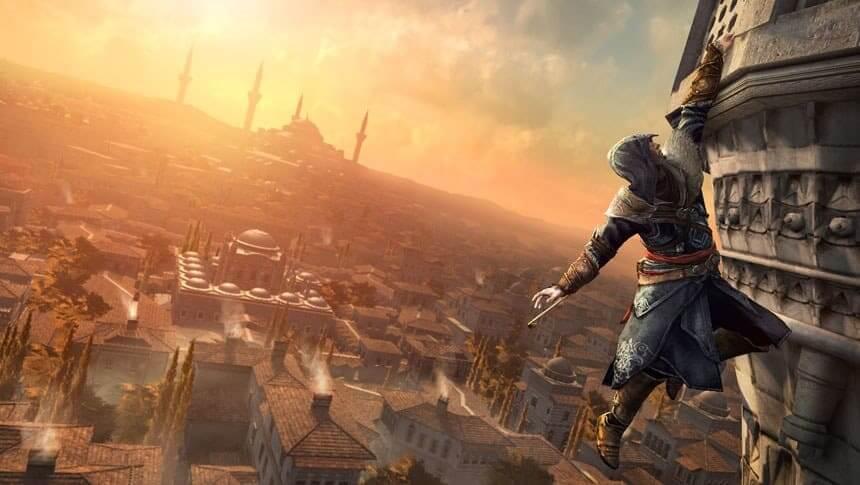 O que faz um arquiteto: cena do jogo Assassin's Creed