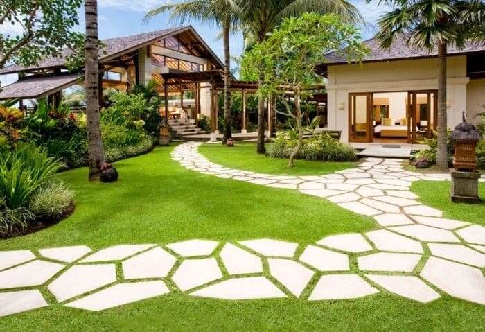 O que faz um arquiteto: paisagismo em quintal