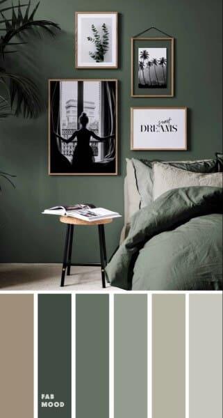 8. Paleta de cores verde (foto: Pinterest)