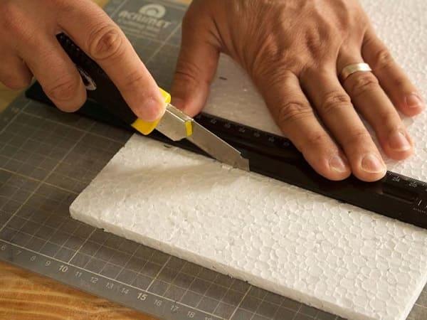 Como fazer uma maquete: etapa do corte exige atenção