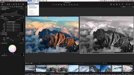 Editor de fotos profissional: edição de imagem no Capture One