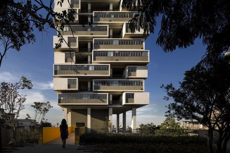 Isay Weinfeld: Edifício 360º – entrada