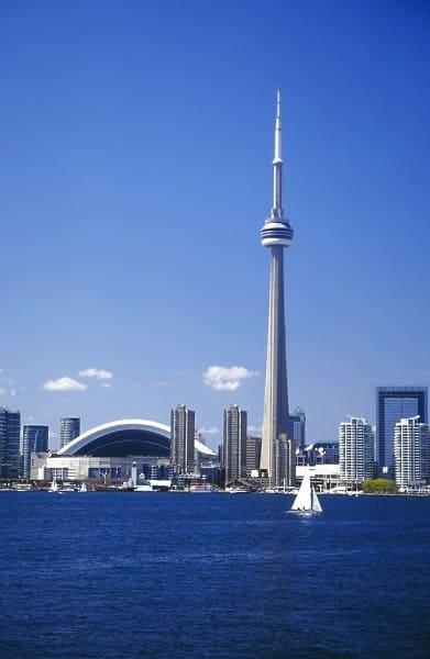 Torre mais alta do mundo: CN Tower (3ª posição)