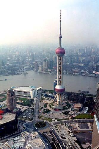 Torre mais alta do mundo: Torre Pérola Oriental (5ª posição)