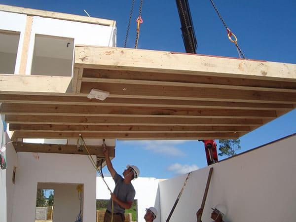 Wood Frame: projeto exige mão de obra especializada (fonte: Stamade)