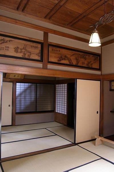Casa japonesa: Ranmas decorados
