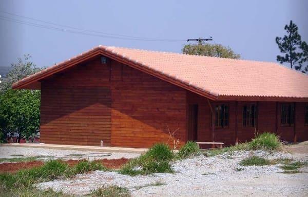 Wood frame: sala de aula da Unesp, em Itapeva (SP)