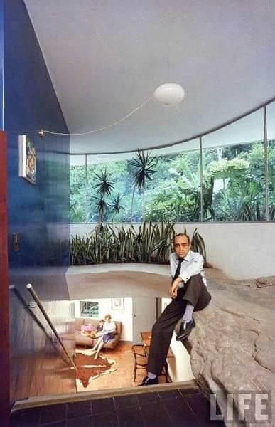 Casa das Canoas: Oscar Niemeyer e a família