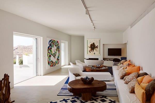 Casas mais extraordinárias do mundo: Casa Ktima - sala de estar