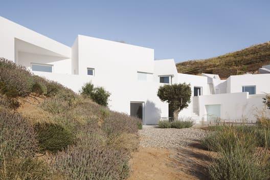 Casas mais extraordinárias do mundo: Casa Ktima - Fachada Frontal